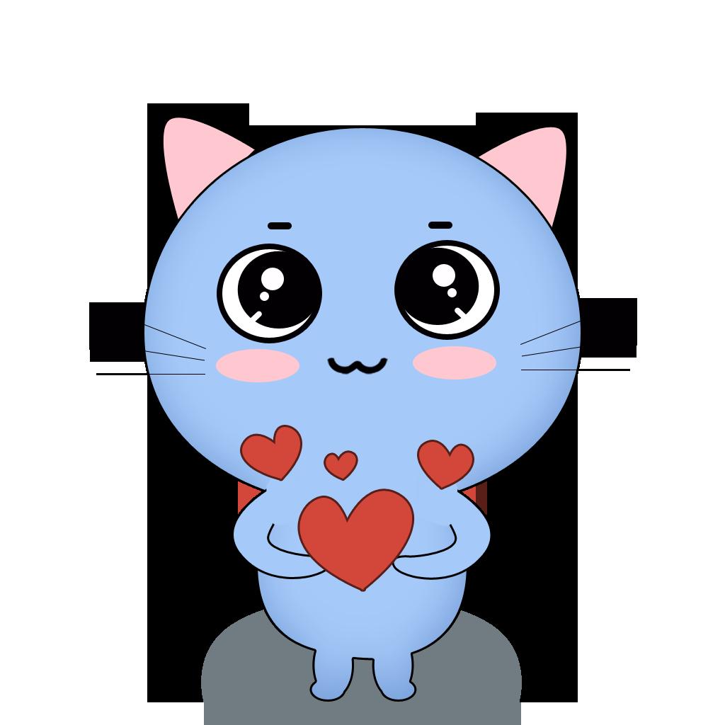 84 Cat messages sticker-1