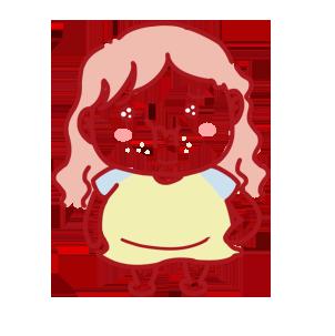 SurprisedGirl messages sticker-1