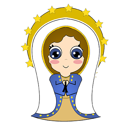 Little Mary messages sticker-5