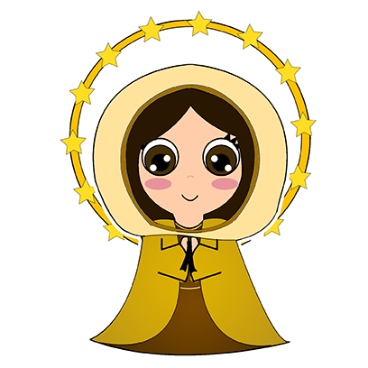 Little Mary messages sticker-11