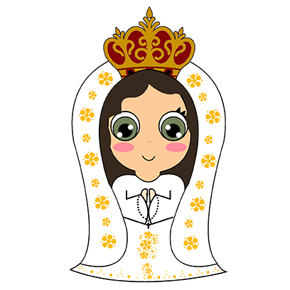 Little Mary messages sticker-9