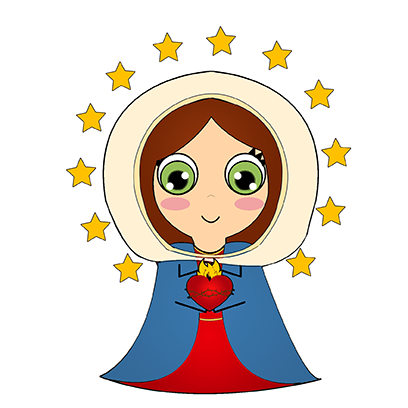 Little Mary messages sticker-6