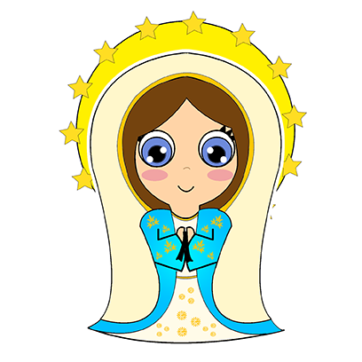 Little Mary messages sticker-10