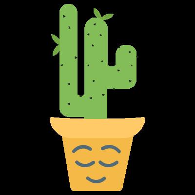 Cute Cactuss messages sticker-0