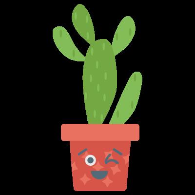 Cute Cactuss messages sticker-10