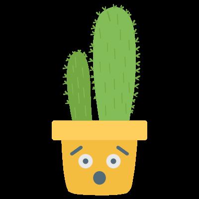 Cute Cactuss messages sticker-2