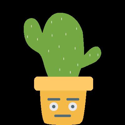Cute Cactuss messages sticker-11