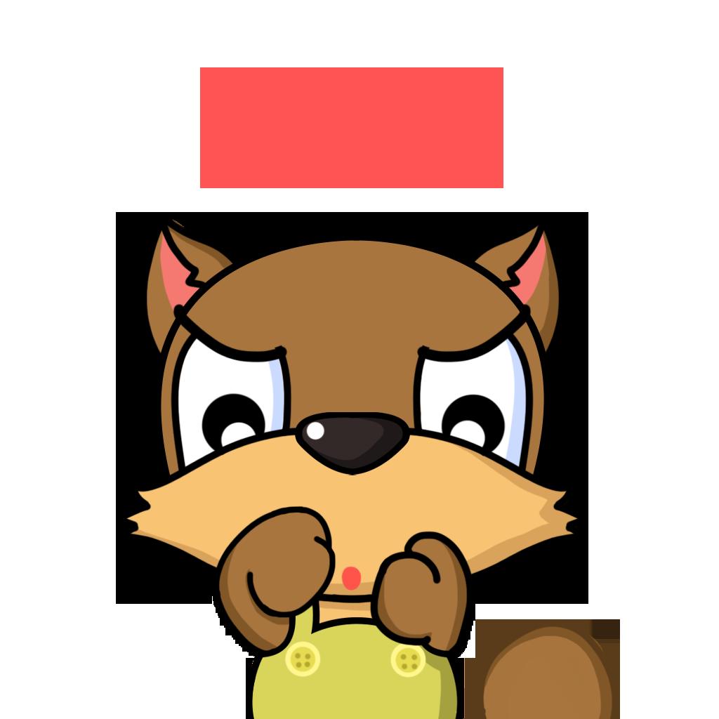 Bean Fox messages sticker-5
