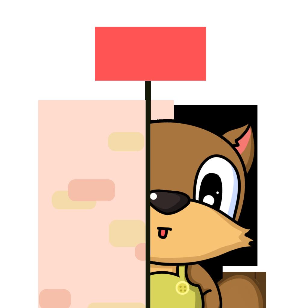 Bean Fox messages sticker-1