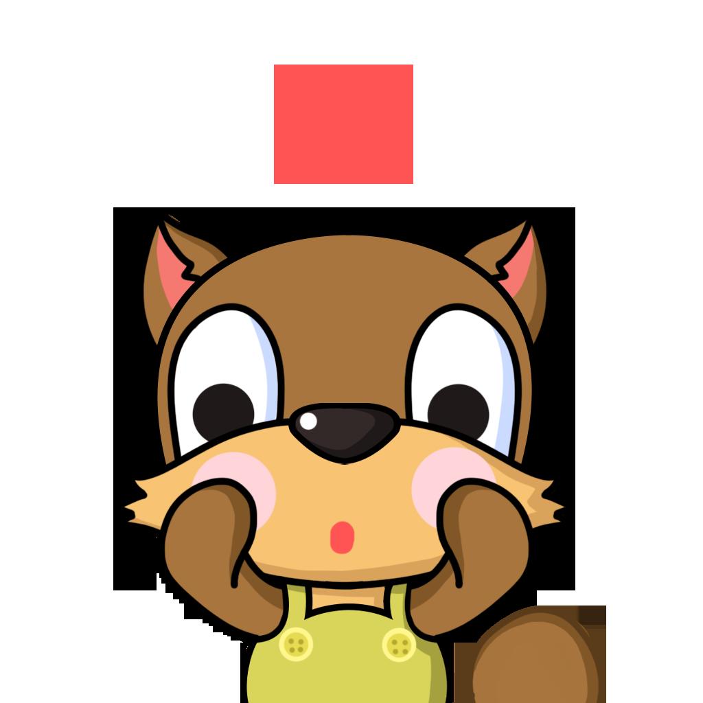 Bean Fox messages sticker-0