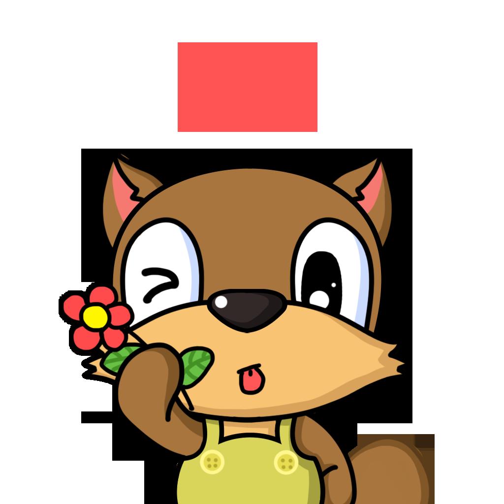 Bean Fox messages sticker-4
