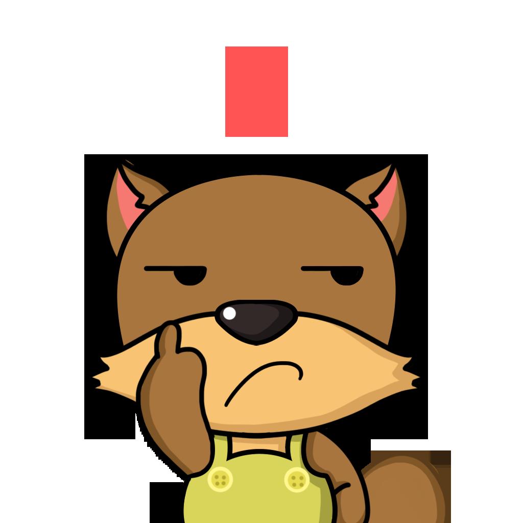 Bean Fox messages sticker-9