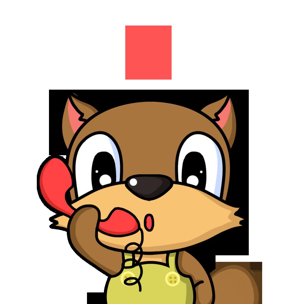 Bean Fox messages sticker-2