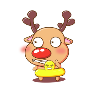 Merry Christmas Elk messages sticker-6