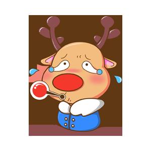 Merry Christmas Elk messages sticker-7
