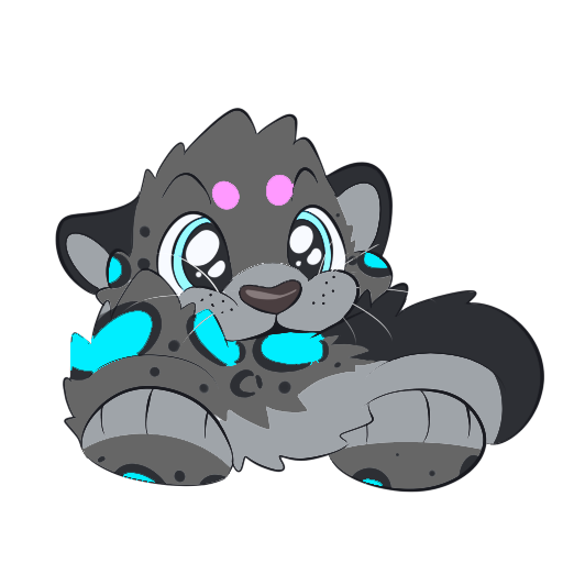 Spencer The Snow Leopard messages sticker-7