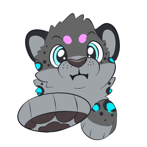 Spencer The Snow Leopard messages sticker-2