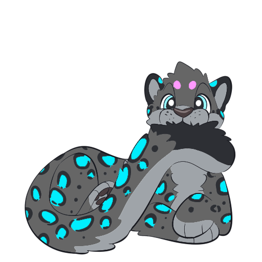 Spencer The Snow Leopard messages sticker-6