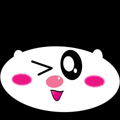 Panda mascot messages sticker-0