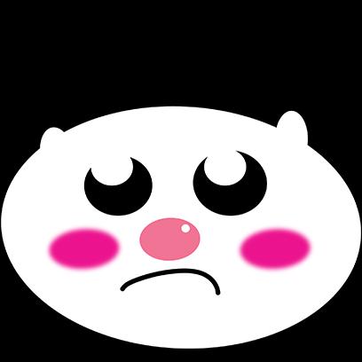 Panda mascot messages sticker-10