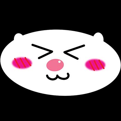 Panda mascot messages sticker-3