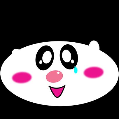 Panda mascot messages sticker-2