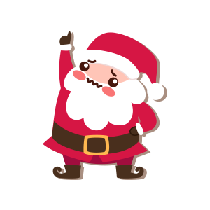 SantaClaus-Merry Christmas messages sticker-5