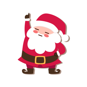 SantaClaus-Merry Christmas messages sticker-4