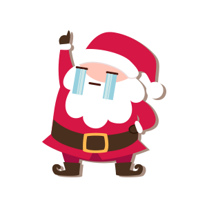SantaClaus-Merry Christmas messages sticker-9
