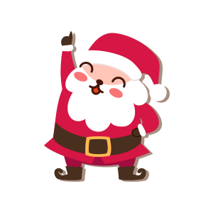 SantaClaus-Merry Christmas messages sticker-8