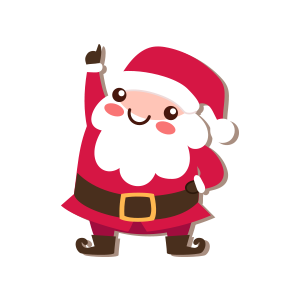 SantaClaus-Merry Christmas messages sticker-6