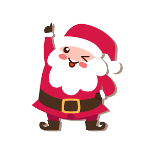 SantaClaus-Merry Christmas messages sticker-3