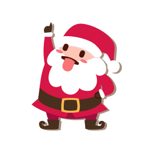 SantaClaus-Merry Christmas messages sticker-10
