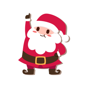 SantaClaus-Merry Christmas messages sticker-11