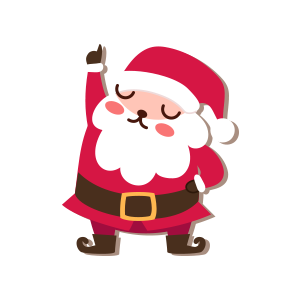 SantaClaus-Merry Christmas messages sticker-7