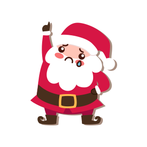 SantaClaus-Merry Christmas messages sticker-2
