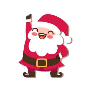 SantaClaus-Merry Christmas messages sticker-1