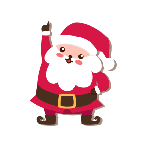 SantaClaus-Merry Christmas messages sticker-0