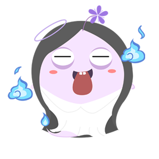 Shy Ghost messages sticker-7