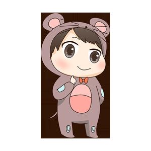 小鼠宝 messages sticker-10