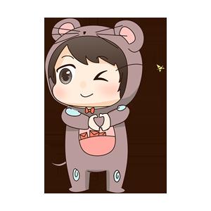 小鼠宝 messages sticker-6