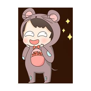 小鼠宝 messages sticker-11