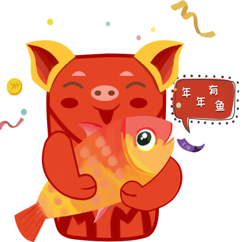 幸运红包 -- RedPackageZhaoCai messages sticker-4