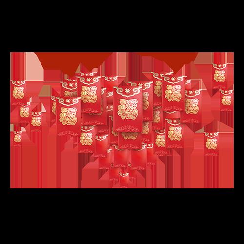 幸运红包 -- RedPackageZhaoCai messages sticker-1