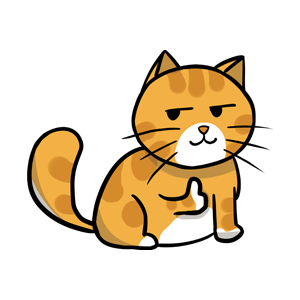 黄猫 messages sticker-6