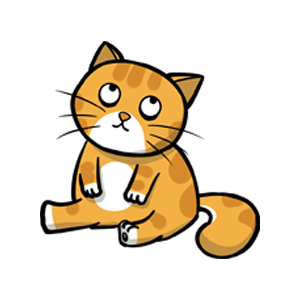 黄猫 messages sticker-4