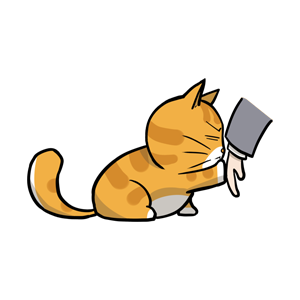 黄猫 messages sticker-9
