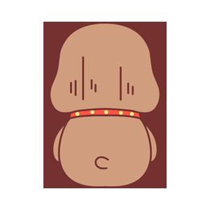 小棕狗 messages sticker-7