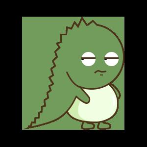 StupidDinosaur messages sticker-2