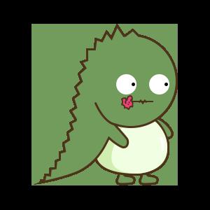 StupidDinosaur messages sticker-9